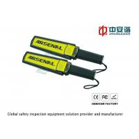 Wholesale Security Handheld Metal Detector / Portable Metal Detector for Airport , Railway , Subway from china suppliers