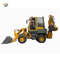 Buy cheap Compact backhoe loader for sale durable construction equipment from wholesalers
