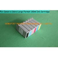 Buy cheap R G B C M Y Empty Canon Printer Ink Cartridges 130ml for r Canon IPF765 Plotter from wholesalers