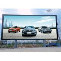 Buy cheap Full Color P10 Outdoor Advertising LED Display IP65 For Fixed Installation product