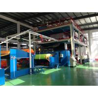 China Ss Type PP Spun Bond Non Woven Production Line , fabric processing machinery on sale