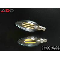 Buy cheap Triac Dimmable Power Saving Light Bulbs 35 * 98mm E14 / E12 C35 Candle Shape from wholesalers