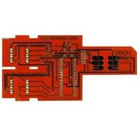 Buy cheap Custom Flexible printed circuit board Chemical Tin Surface Finish with FR4 Stiffener from wholesalers