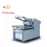 Buy cheap Semi - Automatic Paper / Label Silk Screen Printing Equipment 380V 3kw from wholesalers