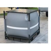 Wholesale Grey Recycled PVC Liquid Jumbo Bag Stainless Steel Pallet Available 1 Ton / 1000L from china suppliers