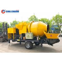 Buy cheap Diesel Type Mobile Concrete Pump , Cement Mixer Pump 30m3 Per Hour from wholesalers