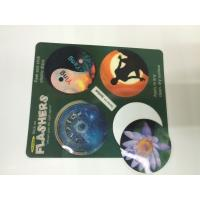 Wholesale Morph Effct 3D 0.45MM PP Lenticular custom 3d stickers With Offset Printing For Kids from china suppliers