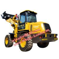 Buy cheap China 2ton Wheel Loader TL20 Tractor Loader Front End Loader With Quick Hitch For Sale from wholesalers