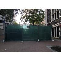Buy cheap HDG1.2 oz/ft Temporary Chain Link Fence Height 4' 6' 8' Height 9' 9.5' 10' 12' Width Chain  Mesh 57mm x 57mm x 2.7mm dia from wholesalers