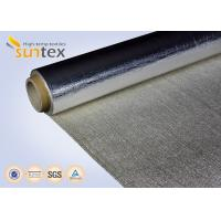 Buy cheap Aluminum Foil Laminated Fabric For Thermal Insulation Cover, Heat Resistant Curtain, Duct from wholesalers