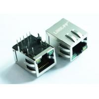 Buy cheap ARJP11A-MASA-B-A-EMU2 Tab Down RJ-45 Magnetic Jack PCB Mounting Standard With PoE from wholesalers