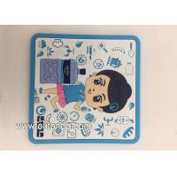 Wholesale Factory Supply Soft PVC rubber Table Coasters for promotion gifts from china suppliers