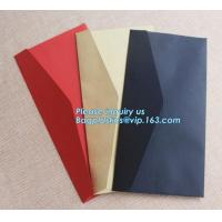 Buy cheap Wholesale custom 4X6 greeting cards 100 pack V flap brown kraft paper A6 envelopes,private label brown kraft paper envel from wholesalers