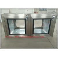 Buy cheap Professional Clean Room Equipment Pass Through Window 220V / 50Hz from wholesalers