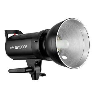 China Godox SK300II 110V 220V Professional Studio Strobe Power 5600K 300WS GN58 Mini Studio Flash Light Lamp on sale