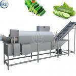 Buy cheap Multifunctional Drum Type Vegetable Washing Machine 300 - 2000 Kg / H Capacity Food Washing Equipment from wholesalers