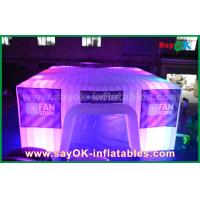 Buy cheap Dome Inflatable Air Tent for Camping , Giant Bubble Led Party Tent from wholesalers