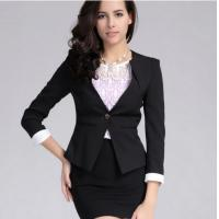 Lady's Long sleeve Formal Suits Manufactures