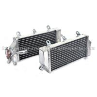 China Motocross High Performance Aluminum Radiator With TIG Welded Tanks on sale