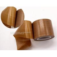 Buy cheap Smooth Surface PTFE  Tape Easy Clean For Shrink Film Packaging / Side Band Sealing from wholesalers