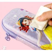 Buy cheap Anti Fouling Stationery Organiser Pencil Case Lightweight With Zipper Colorful from wholesalers