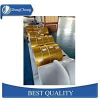 Buy cheap Gold Fin Stock Aluminum Foil Strips Foil Air - Conditioner Use 3102-H22 from wholesalers