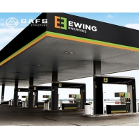 Buy cheap Easy Installation Steel Space Frame Petrol Station Canopy from wholesalers