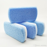 Buy cheap double color Foot Pumice Sponge Stone Foot Callus Exfoliate Hard Skin Remove Pedicure Scrubber Feet Pumice Stone Pedicur from wholesalers