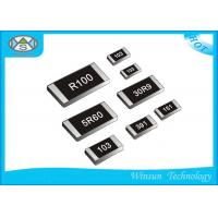Buy cheap Miniature Metal Oxide Film Resistor 0201 - 2512 High Reliability Thin Film Resistor from wholesalers