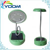 Buy cheap Bright 8 leds YMC-L02 popular USB cable rechargeable emergency portable solar lamp led from wholesalers