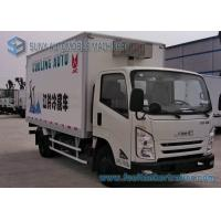 4X2 JMC Frozen Food Delivery Truck , 2 Ton 2000KG Refrigerated Trucks Manufactures