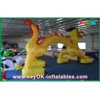Buy cheap 7 X 4M Inflatable Entrance Arch / Inflatable Finish Arch For Promotional from wholesalers