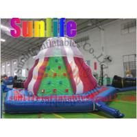 Buy cheap inflatable climbing mountain,climbing wall from wholesalers