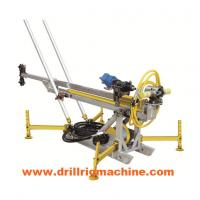 Hydraulic Man Portable Drilling Rig Machine With 400nm Rotary Torque Long Stroke Cylinder Manufactures