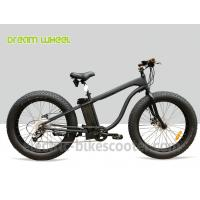 """Buy cheap 26""""X 5.0 Beach Cruiser Disc Brakes Fat Wheel Bicycle 48V 500W Rear Gear Motor from wholesalers"""