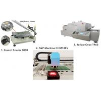 Buy cheap PCB Manufacturing Equipment SMT Production Line Manual Pick And Place Machine from wholesalers