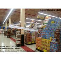 Buy cheap 7800Lm Hanging 28Sets linear led lamps 42M Seamless Linkable CE / RoHS / SAA from wholesalers