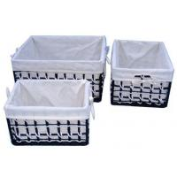 Wholesale willow laundry basket 04 from china suppliers