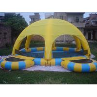 Buy cheap Inflatable Water Pool With Tent / Inflatable Water Ball Pool For Party from wholesalers