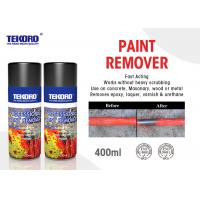 Wholesale High Efficiency Paint Remover Spray For Quickly Stripping Paint / Varnish / Epoxy from china suppliers