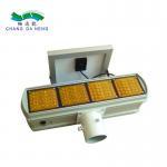 Buy cheap LED solar strobe light traffic lights double side solar power strobe light from wholesalers