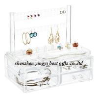 Buy cheap Best selling  Clear Earring & Ring Organizer & Drawers from wholesalers