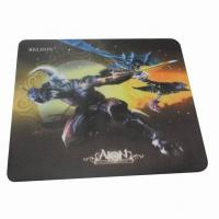 Square Soft Cloth Surface Rubber Mouse Pad Mat For Laser Mouse