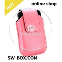 Buy cheap Leather Case Swivel Holster For BlackBerry Bold 9000 (Pink) from wholesalers