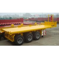 Buy cheap 40 ft or 20 ft 3 axles container  dump semi trailer truck - CIMC  VEHICLE from wholesalers