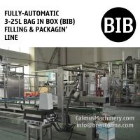 Buy cheap Fully-automatic 3-25L Bag in Box Water Wine Rum Alcohol Beverage Oil BIB Filling Machine and Packaging Line from wholesalers
