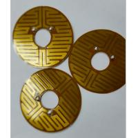 Wholesale All kinds of shape High temperature Polyimide Flexible Thermo Foil Heater from china suppliers