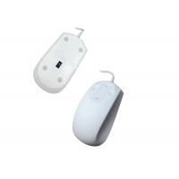 Buy cheap IP68 Waterproof Medical Mouse With Touch Scrolling Wheel with Material Antibacterial from wholesalers