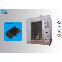 Buy cheap Glow Wire Tester Electrical Safety Test Equipment IEC60695-2-10 With Observation Window from wholesalers