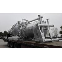China Stainless Steel Horizontal Pressure Filter / Rotary Pressure Plate Filter on sale